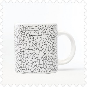 Taza Trencadis diseño made in Barcelona, mug, modernismo, cool, Gaudi