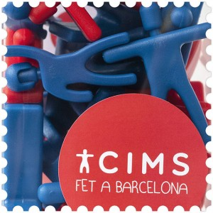 Cims, building game design made in Barcelona castellers